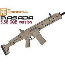 本家PTS MAGPUL製 MASADA/ACR 5.56 CQB version  (可変HOP搭載電動エアガン)/ カラーDE