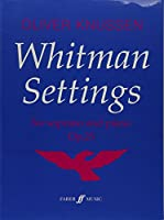 Whitman Settings: Part(s) (Faber Edition)
