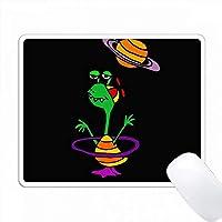 土星漫画の面白いモンスター PC Mouse Pad パソコン マウスパッド