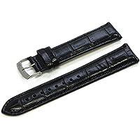 MORELLATO[モレラート] カーフアリゲーター型押し時計バンド SAMBA サンバ 20mm ブラック 交換用工具付き [正規輸入品] X2704656019020M
