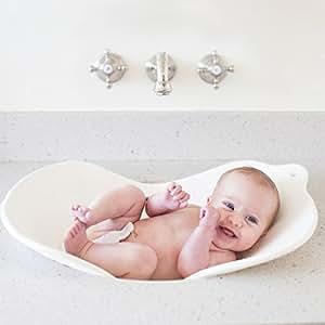 Puj Flyte パジ バスタブ 洗面台やシンクで 立ったまま沐浴 座浴 ホワイト