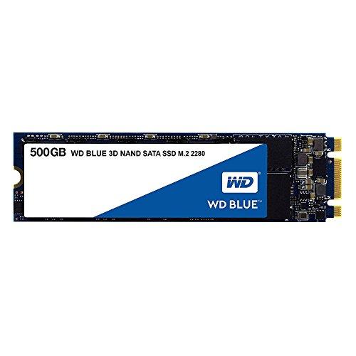 【国内正規代理店品】WD 内蔵SSD M.2-2280   500GB   WD Blue 3D   SATA3.0   5年保証   WDS500G2B0B-EC