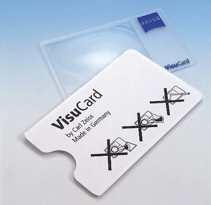 ZEISS(ツァイス) カード型ルーペ VisuCard