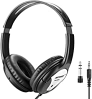 Neewer NW-960S Studio Monitor Headphones-Dynamic Foldable Headsets with 40mm Loudhailer Driver, 3 Meters Detac