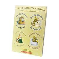 Scholastic How Do Dinosaurs (4 books & 4 CDs)  スカラスティック ハウ・ドゥ・ダイナソーズ (4冊・CD4枚付き)