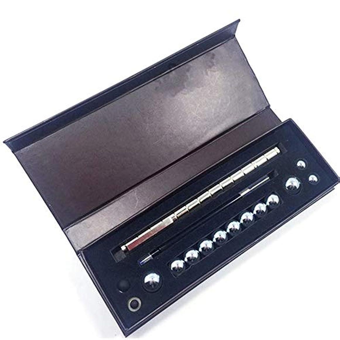 強化彼女自身勉強する磁気ペンクリエイティブ楽しいペン金属磁気マグネット水性ペンギフトボックス減圧ペン文房具-シルバー