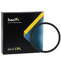 Haoge 49 mm MC CPLマルチコートCircular Polarizer偏光レンズフィルタfor Canon Nikon Sony Minolta Pentax Olympus Panasonic Leica Zeiss TAMRONデジタルカメラDSLRレンズ