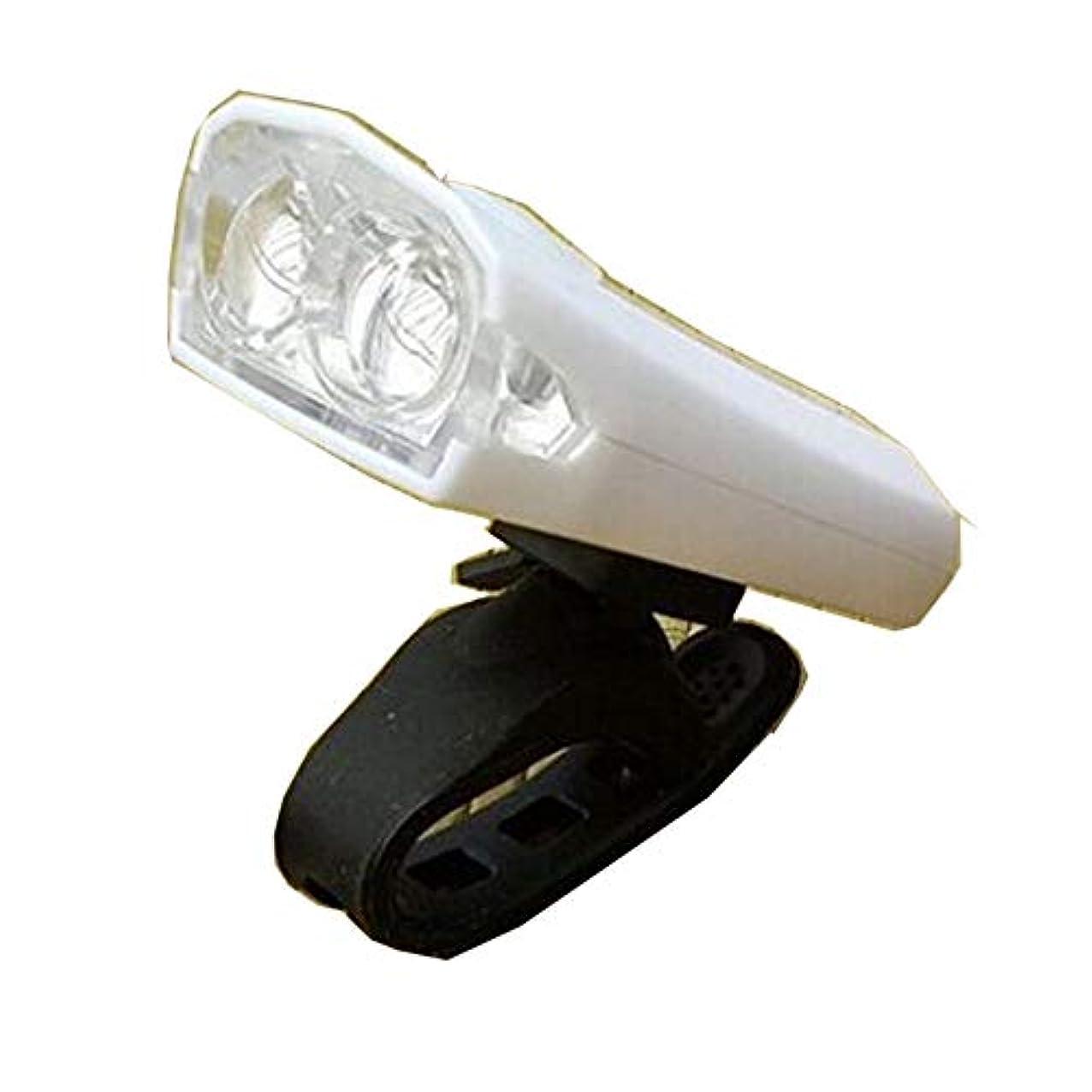 わかりやすい水を飲む赤外線自転車 ライト サイクル ホワイト LED 防水 USB充電式 持ち運び 工具不要 簡単 人気 簡単着脱 TASTE-cylight