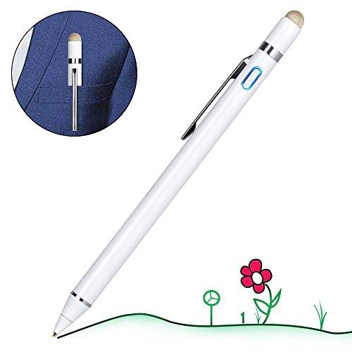 【改良版】 タッチペン 極細 スマートフォン タブレット ス...