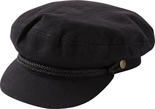 BRIXTON (ブリクストン) Fiddler Cap マリンキャップ 【XL(62cm) BLACK】 [並行輸入品]