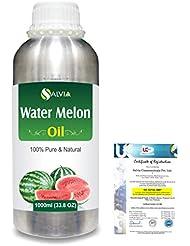 Water Melon (Citrullus Vulgaris) 100% Pure Natural Carrier Oil 1000ml/33.8fl.oz.