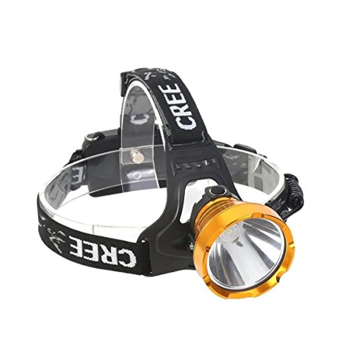 直立所有権ぎこちない充電式LEDヘッドトーチ、強力なルーメンヘッドランプズーム可能、IPX5防水、アウトドア&屋内キャンプに最適なヘッドライト、セキュリティ、緊急時用夜間Readin