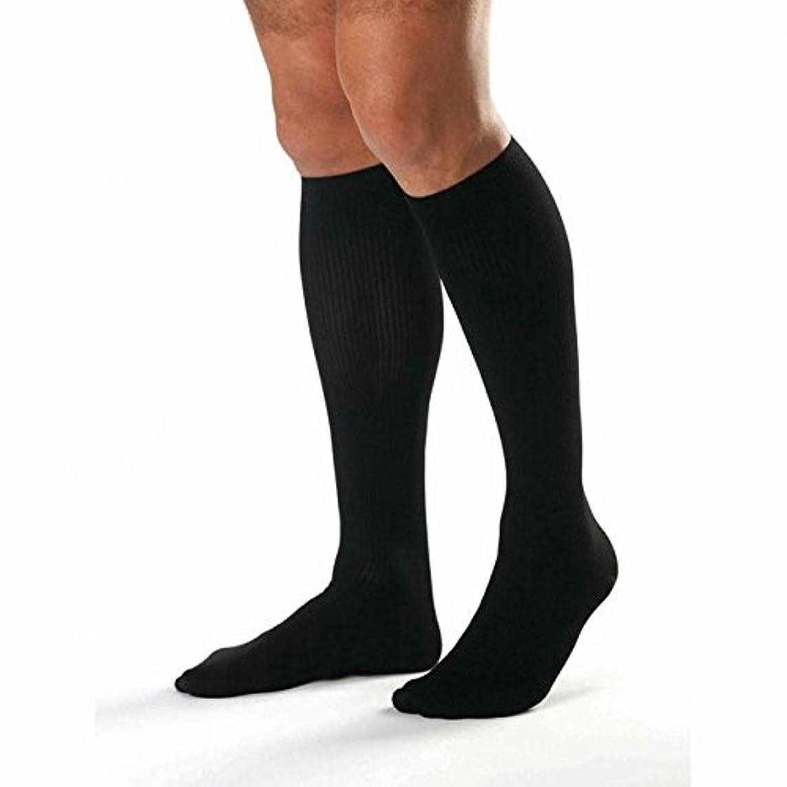 容器ハウス同意Jobst For Men Firm Support Over-the-Calf Dress Socks - Large (20-30mmHg) by Jobst