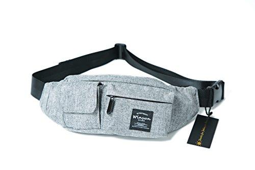WinSun ウエストバッグ 軽量 ランニング バイク アウトドア スポーツ 釣り 登山 携帯 便利 ウエストポーチ ショルダーバッグ ボディーバッグ 斜めがけバッグ