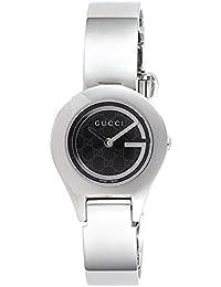 [グッチ]GUCCI 腕時計 6700 ブラック文字盤 ステンレスケース バングルタイプベルト YA067508 レディース 【並行輸入品】