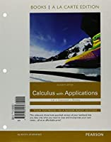 Calculus With Applications Books a la Carte Plus MyLab Math Package (11th Edition)【洋書】 [並行輸入品]