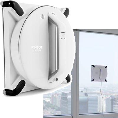 ECOVACS(エコバックス) 窓用ロボット掃除機 クラシックホワイト WINBOT 950