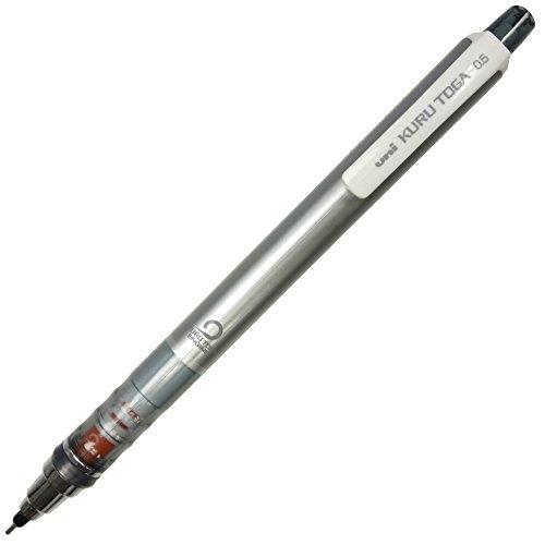 三菱鉛筆 クルトガ スタンダードモデル 0.5mm シルバ...