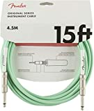 Fender シールドケーブル Original Series Instrument Cable, 15', Surf Green