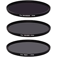 Ice Extreme NDフィルタセット67mm nd100000nd1000nd64ニュートラル密度6716.5,10、6Stop光学ガラス