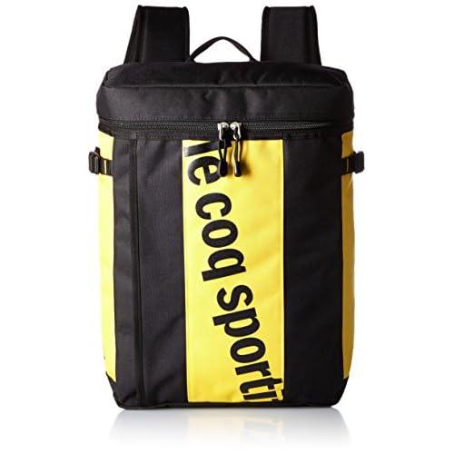 [ルコックスポルティフ] Le coq sportif (ルコック スポルティフ) Le coq sportif スポーツバッグ スクエアバックパック [ユニ] QA-640363 QA-640363 BLK (BLK)
