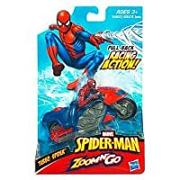 Spiderman Zoom n Go Speed Spider Drag Racer Vehicle