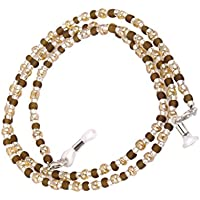 F Fityle Beaded Eyeglass Holder, Glasses Chain, Sunglasses Lanyard Cord for Travel, Outdoor Activities, School and Home
