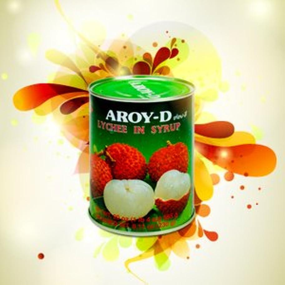白いうまリラックスしたライチ 缶詰 565gX3缶セット (業務用 AROY-D タイ 南国 果物)(保存食 備蓄用にも)