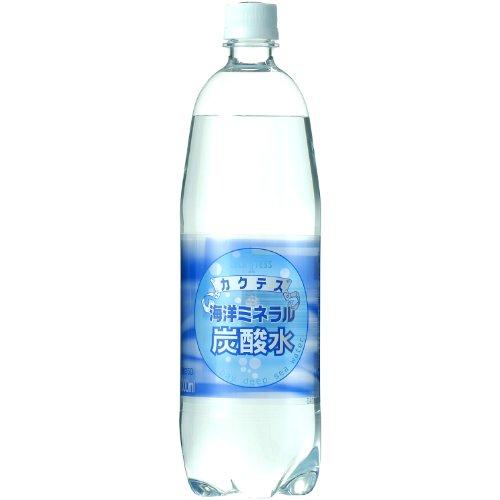 木村飲料 海洋ミネラル炭酸水 ペット 1000ml×12本