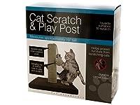 Bulk Buys OD425-2 Cat Scratch & Play Post