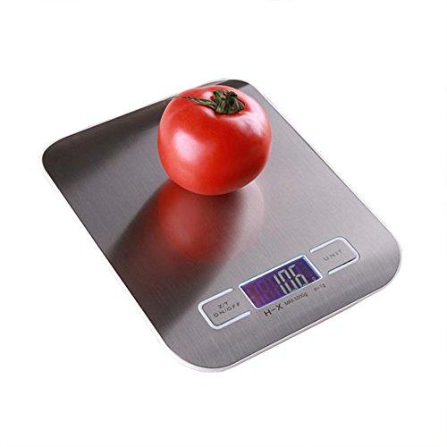 キッチンスケール デジタルスケール スケール 1gから5000gまで 風袋引き機能 高精度センサー 自動オフ 計り 料理