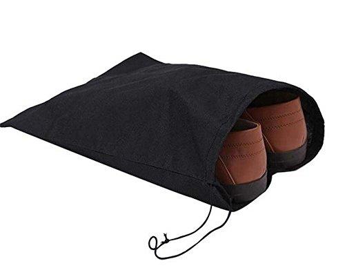 Super JP 不織布 旅行 靴収納袋 巾着袋 旅行用収納...
