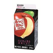 グリコ 赤りんご青りんご270ml 12本