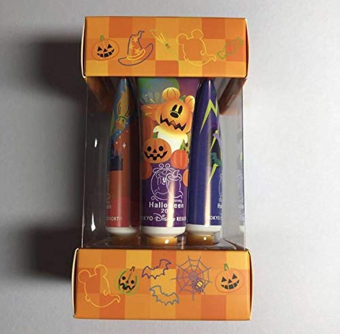 答え協力するパッケージディズニー ハロウィン2019 ハロウィーン おばけ ハンドクリーム 4個入り