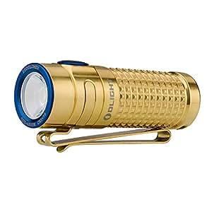 OLIGHT(オーライト) S1R BATON II限定版 チタン/Ti ハンディライト 1000ルーメン 充電式 フラッシュライト LED懐中電灯 ハンディライト 電池IMR16340
