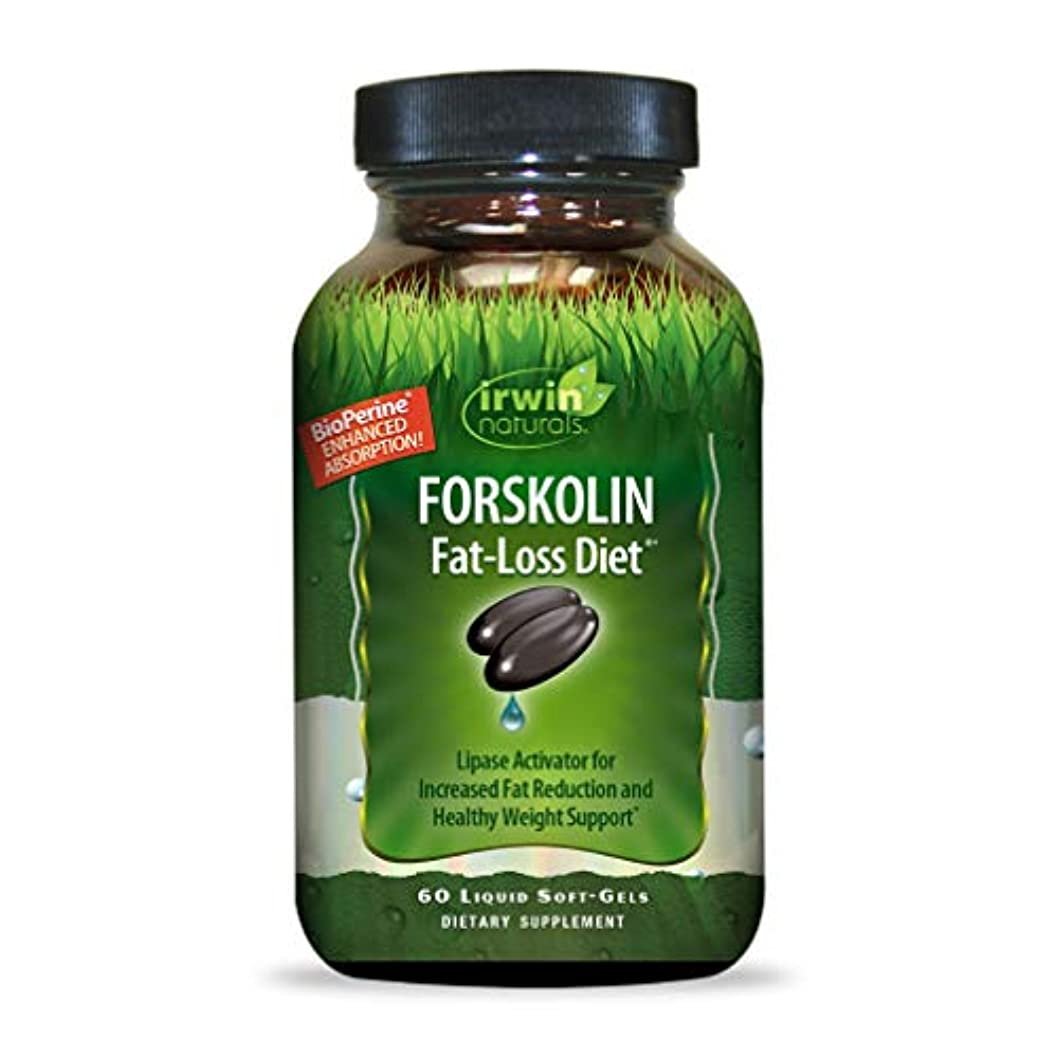 民間絵ストレージIrwin Naturals Forskolin(フォルスコリン) Fat-Loss Diet 60 sgels