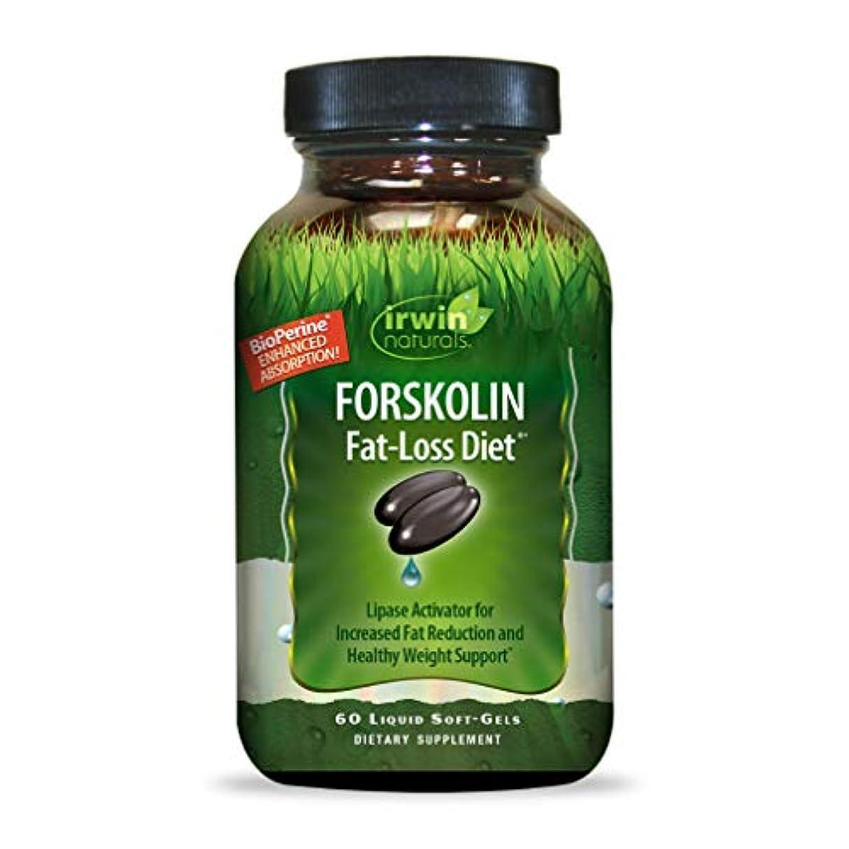 いたずらなインディカ代わりにIrwin Naturals Forskolin(フォルスコリン) Fat-Loss Diet 60 sgels