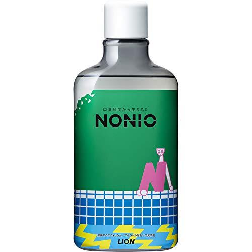 NONIOマウスウォッシュ ノンアルコールライトハーブミント限定デザイン品 600ml