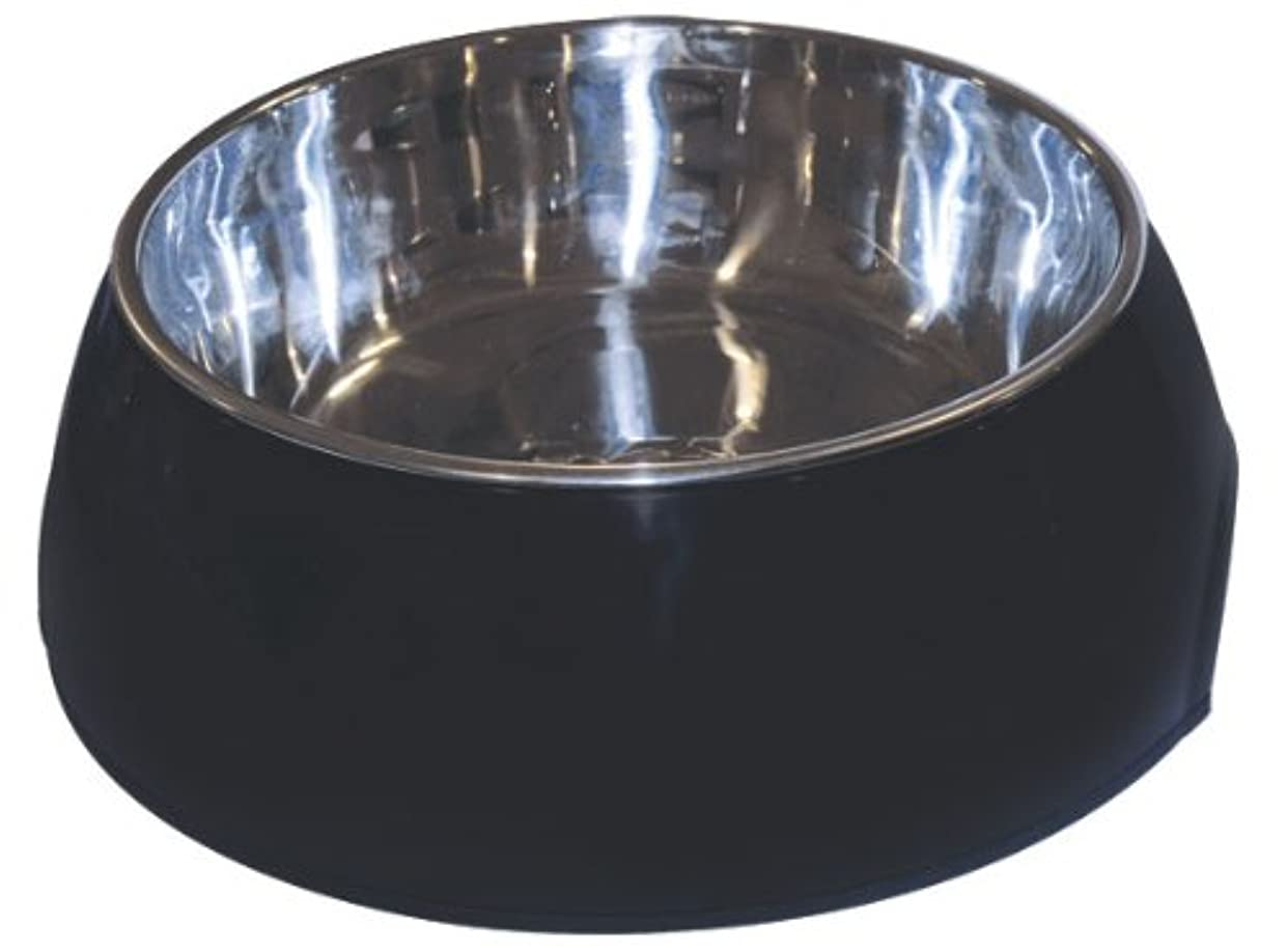 Dogit 2-in-1 Durable Bowl, Black, Large by Dogit