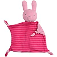 iplay Dream Window Organic Blankie (Animal-Pink Bunny-3mo+) by green sprouts by i play.