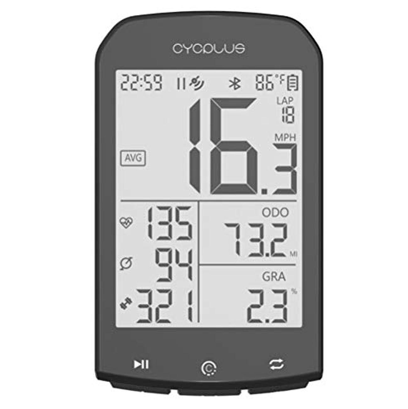ピカソストレッチ微弱Kiowon 自転車コンピューター バイクスピードメーター LCD発光 走行距離計 防水レベルIPX6 ANT +サイクリングコード表 無線Bluetooth 4.0受信