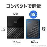 WD SSD 外付 ポータブル 500GB My Passport Go ブルー WDBMCG5000ABT-WESN USB3.0 / 3年保証 【PlayStation4 メーカー動作確認済】 画像