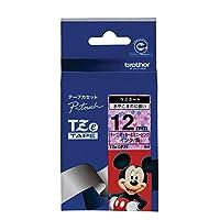 ブラザー ピータッチテープ ミッキー&ミニーピンク/黒字 12mm TZE-DP31 【まとめ買い3個セット】