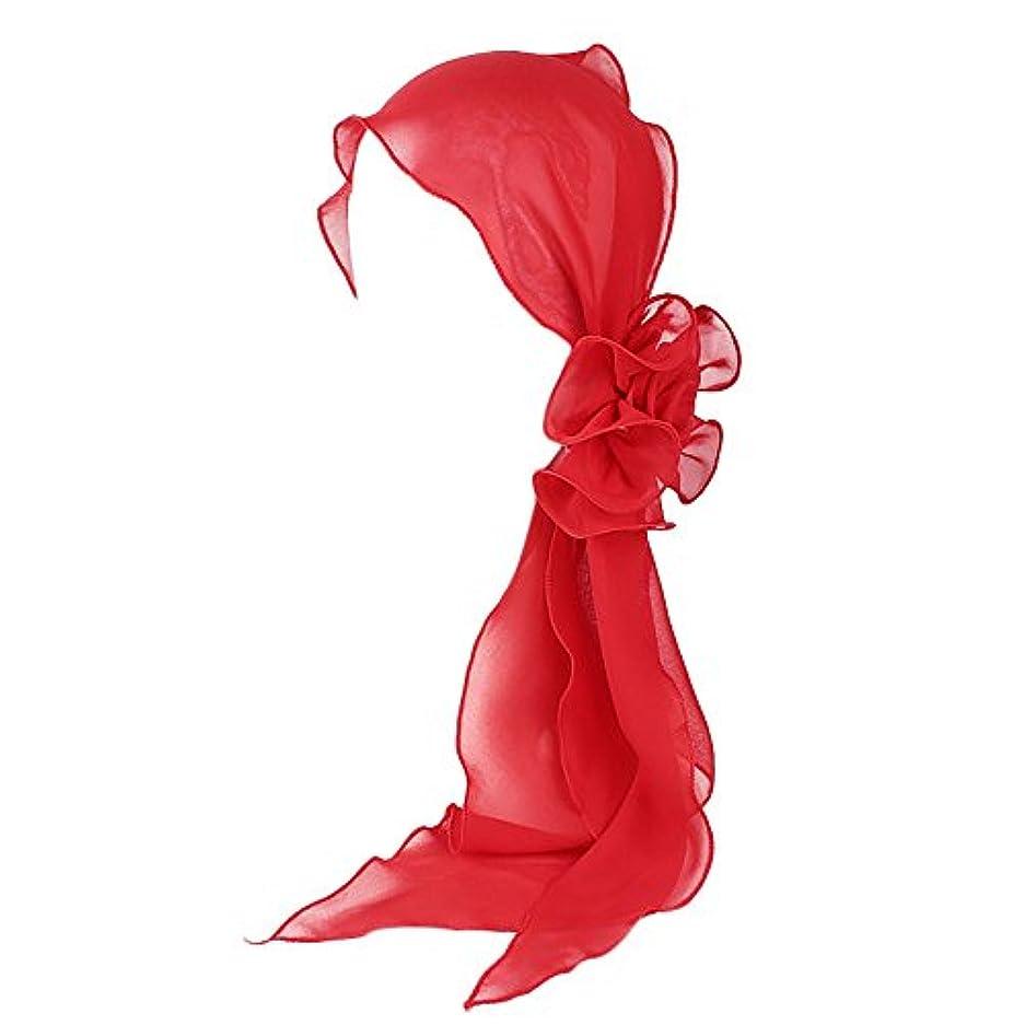 スクラップブックもっと少なく雄大なヘッドスカーフ ハット 帽子 Timsa レディース スカーフキャップ 花の形 ヘッドスカーフ 睡眠 抗UV 脱毛症 化学療法の患者のために バイザー 夏用帽子 イスラム教徒 フヘッドバンド スカーフ ヒジャブ 山の日...