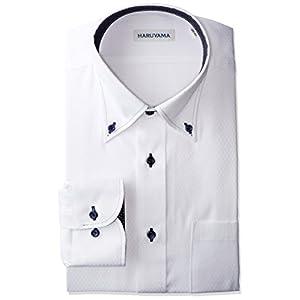 (ピーエスエフエー) P.S.FA 形態安定 スタンダードモデル 長袖 ボタンダウンワイシャツ M151180108 01 ホワイト M80(首回り39cm×裄丈80cm)