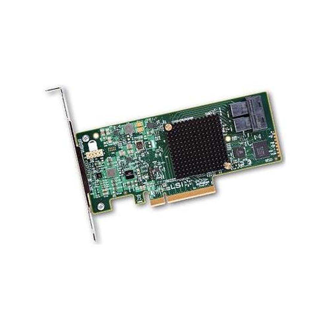 足枷流行先見の明LSI lsi00344 / 9300 – 8i SGL sas3 12 GB / s内部8ポートSFF - 8643 PCIe 3.0 with SWとLPブラケットno CBLボックスROHS
