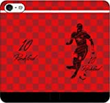 iPhone/Xperia/Galaxy/他機種選択可:サッカー/グラフィティ手帳ケース(デザイン:Uマンチェスター/10番_01) 05 iPhone7