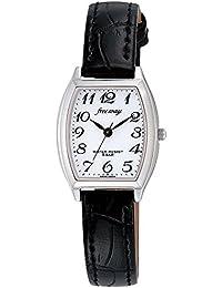 [シチズン キューアンドキュー]CITIZEN Q&Q ソーラー腕時計 フリーウェイ アナログ表示 5気圧防水 ホワイト AB05-304 レディース