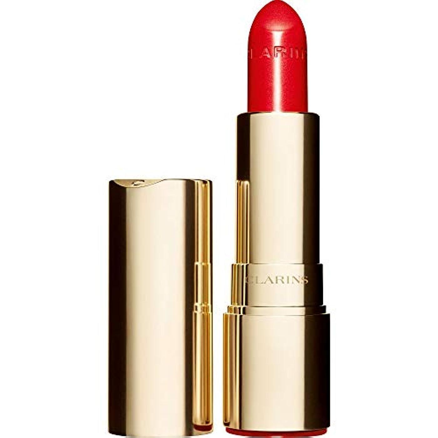通貨余計な限界[Clarins] クラランスジョリルージュブリリアント口紅3.5グラムの741S - 赤、オレンジ - Clarins Joli Rouge Brillant Lipstick 3.5g 741S - Red Orange...