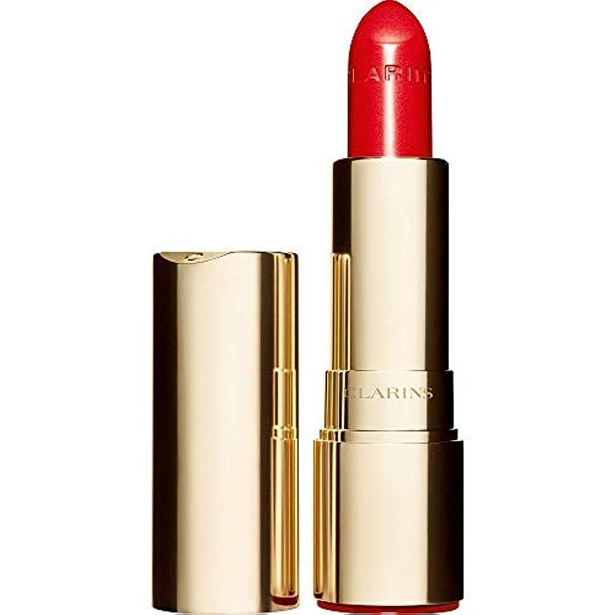 しゃがむお茶先史時代の[Clarins] クラランスジョリルージュブリリアント口紅3.5グラムの741S - 赤、オレンジ - Clarins Joli Rouge Brillant Lipstick 3.5g 741S - Red Orange...